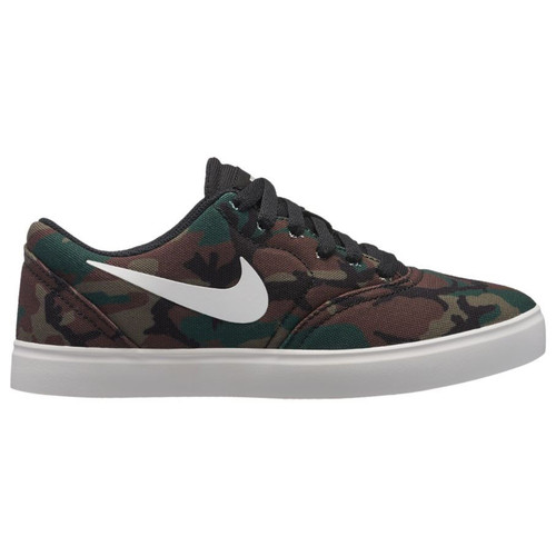 Nike SB - Boys Nike SB Check Canvas - Camo With Black Logo