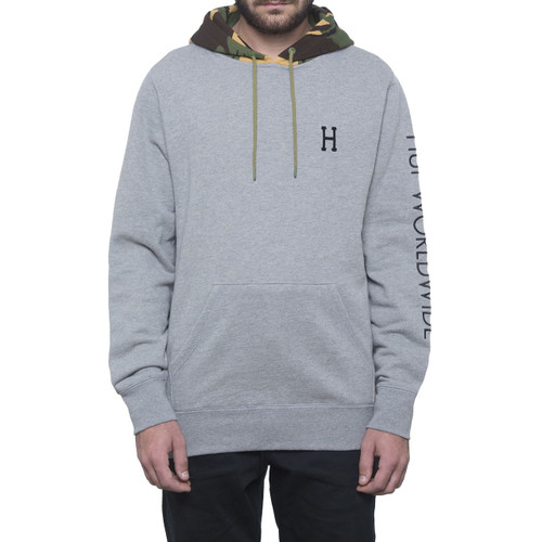 HUF Voyage French Pullover Hoodie - Athletic Heather