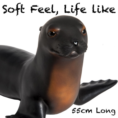 Jumbo Sea Lion, Soft Feel, 55cm long