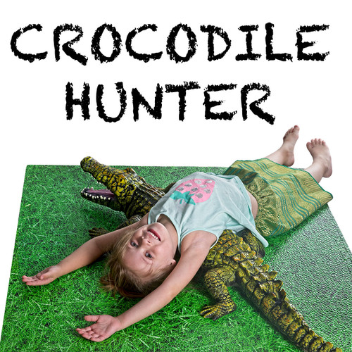 Crocodile, Giant Soft Feel 4ft or 122cm