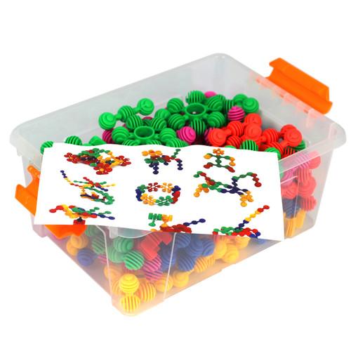Construction Soft Touch Numerecy Balls 120 Piece Set