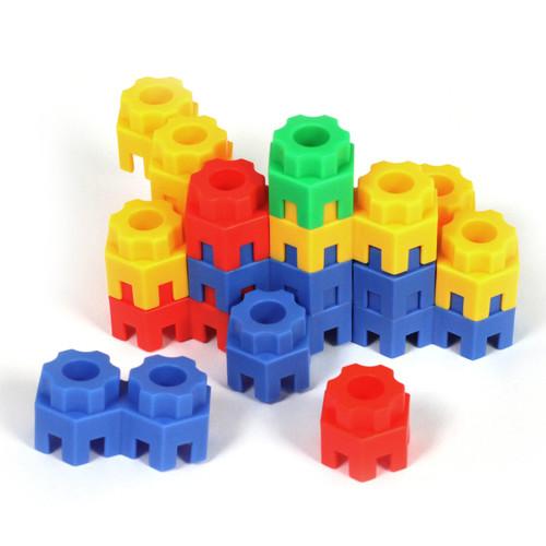 Construction Block Connectors 144 Piece Set