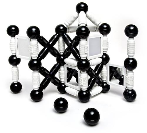 Reflection Black & White Building Set 58 Piece