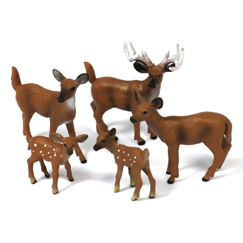 Small Deer Family Bundle Of 5