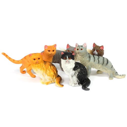 6pc Large Soft Cat Bundle
