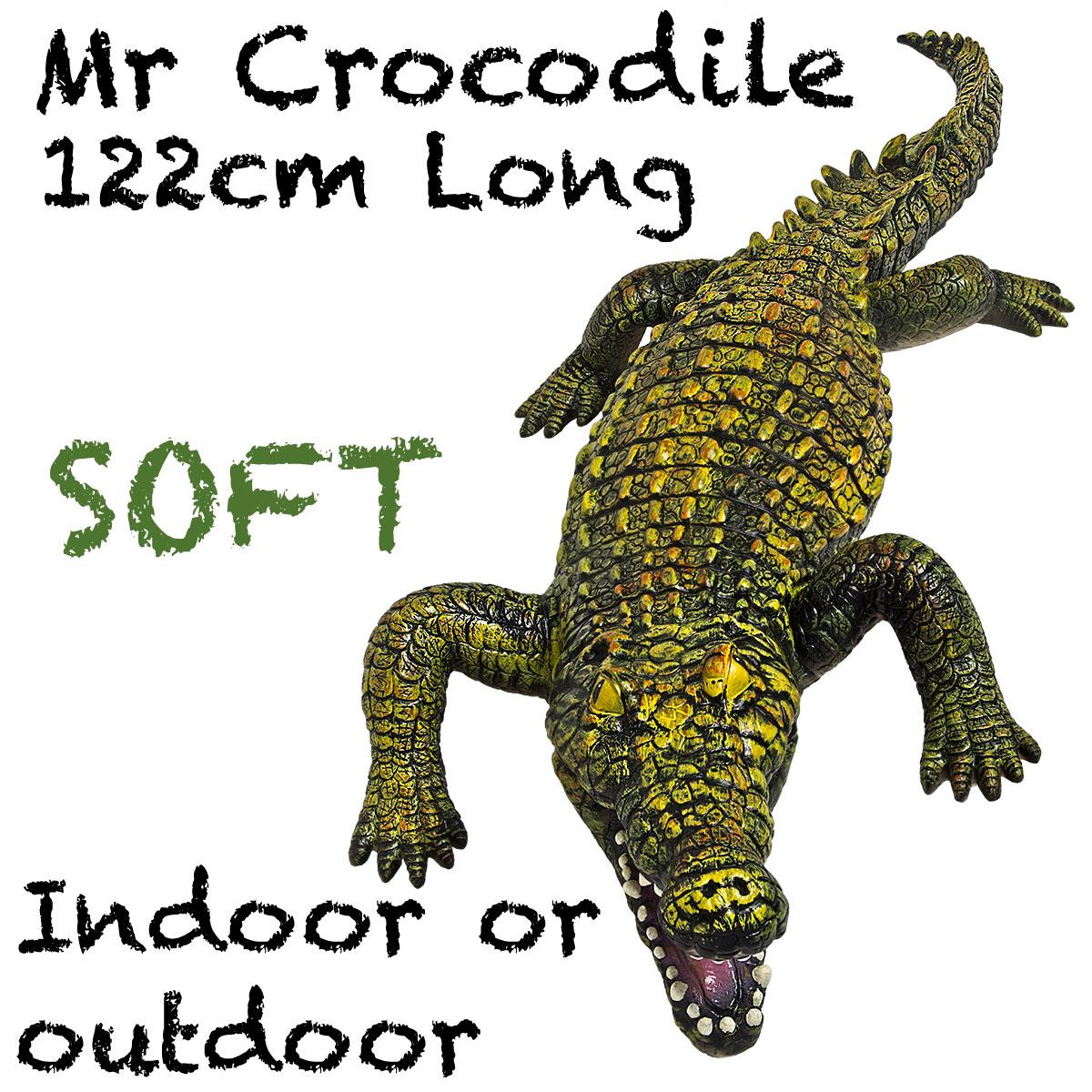 Crocodile, Giant Soft Feel 4ft or 122cm