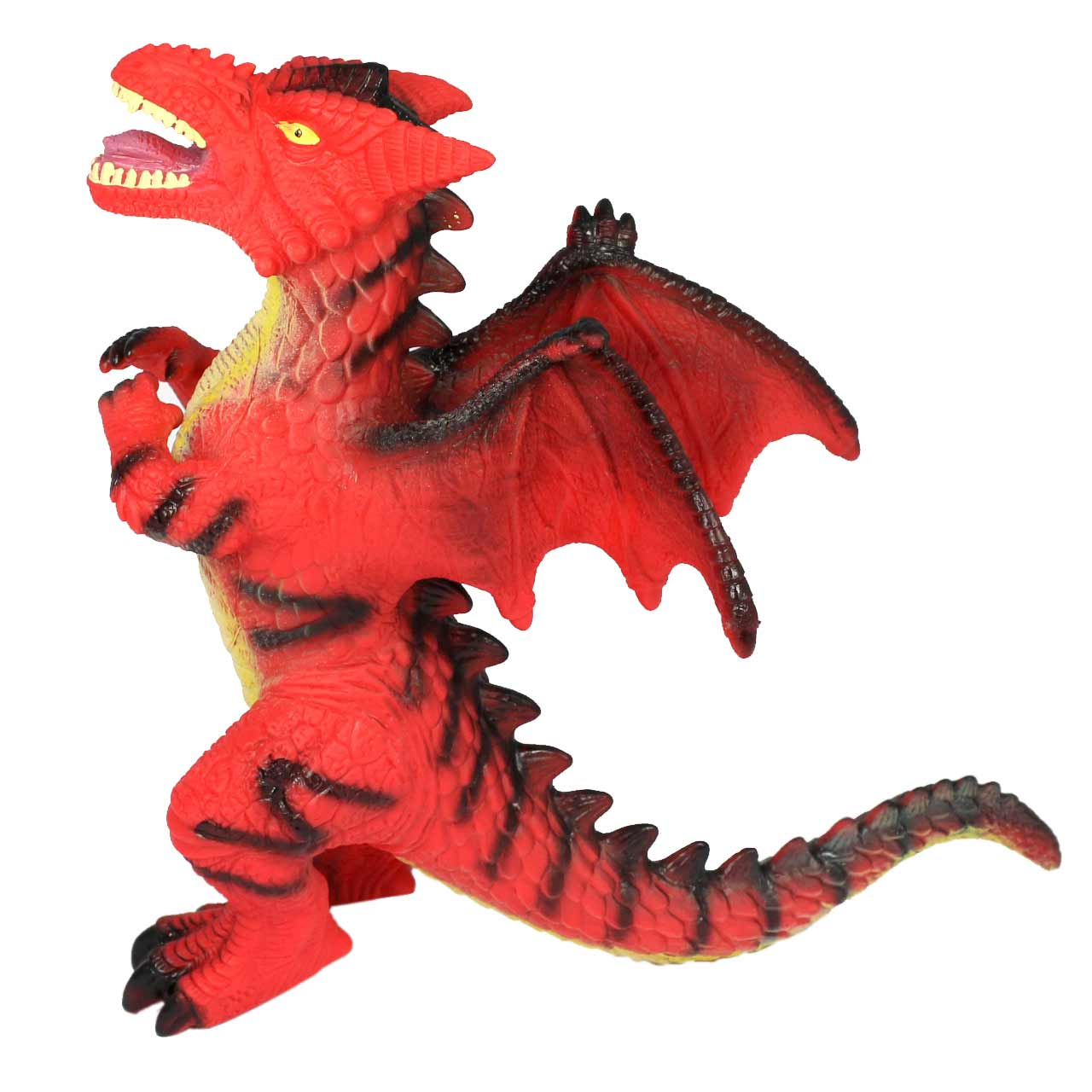 Large RED Dragon,  Single head, Toddler Soft