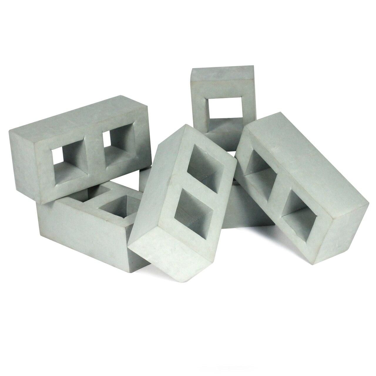 Foam Brick Bundle Red/Grey 45pcs