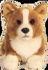 Corgi Dog Faithful Friends 30cm