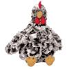 Henley Black and White Plush Chicken, Manhattan Toys