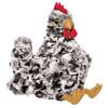 Black and White Plush Chicken, Henley