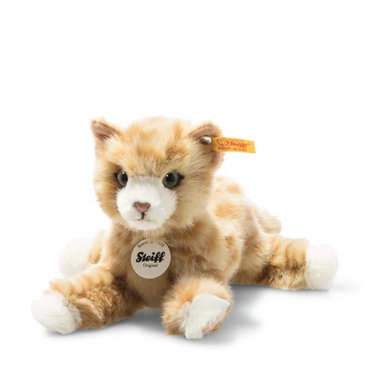 Mimmi Red Tabby Cat Toy Steiff EAN 099229