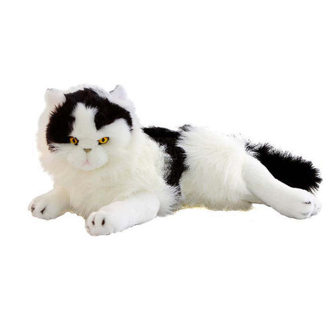 Black and White Cat Lying Medium, Woodrow, Bocchetta