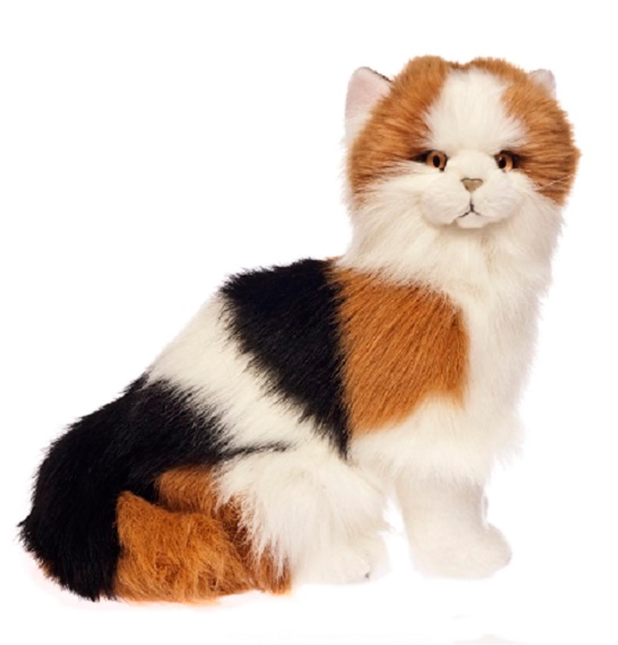Calico Cat Plush Toy, Alfio, Bocchetta