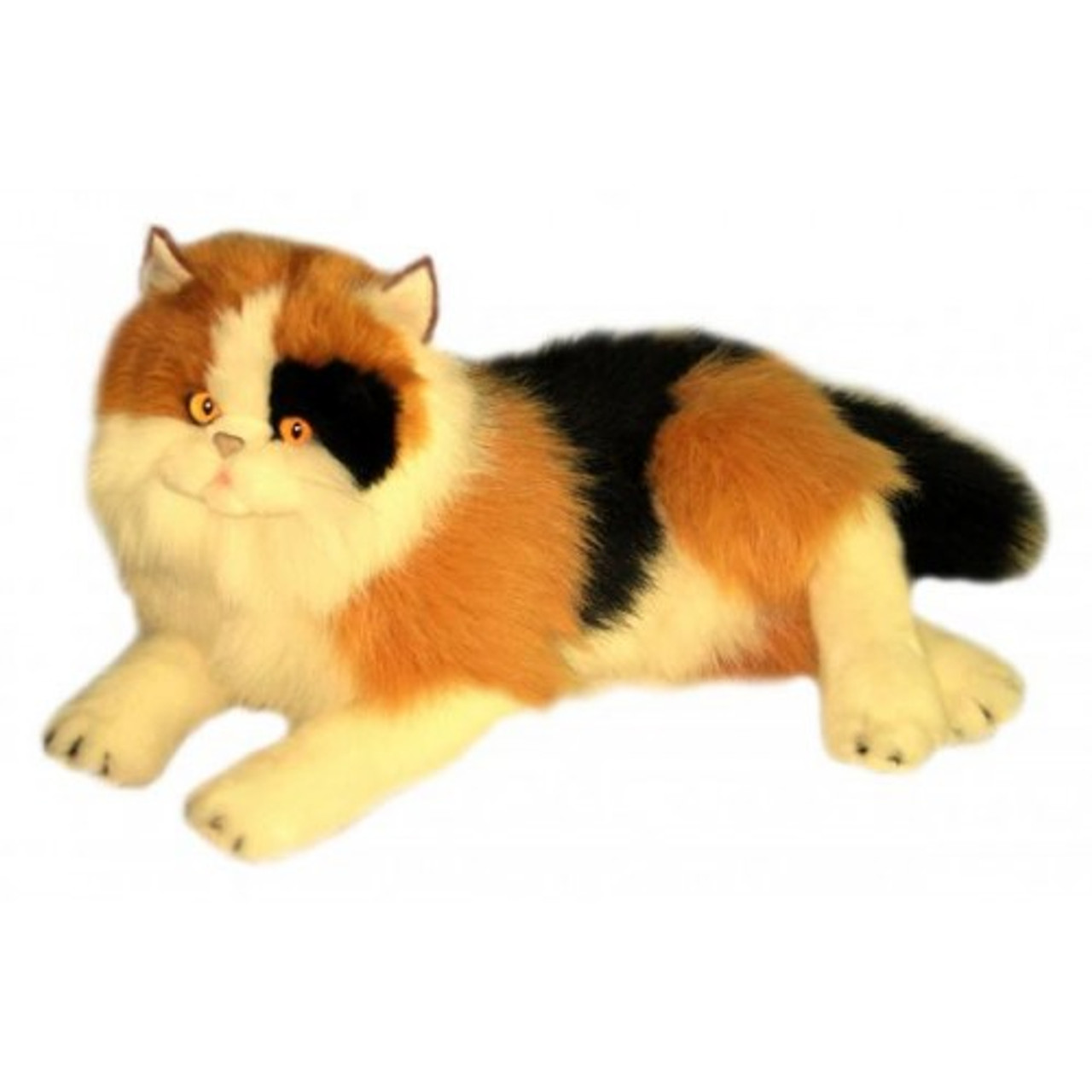 Long Haired Calico Cat Soft Toy Marmalade