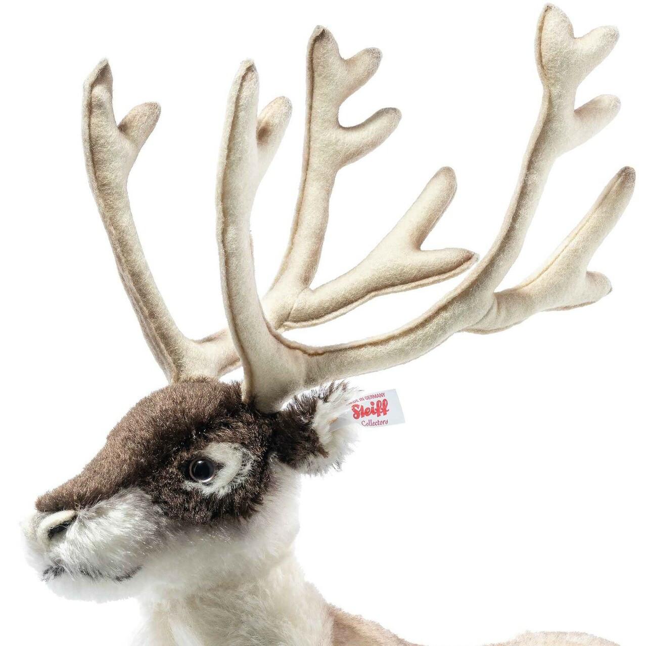 Erik Reindeer Steiff Limited Edition EAN 006074 face