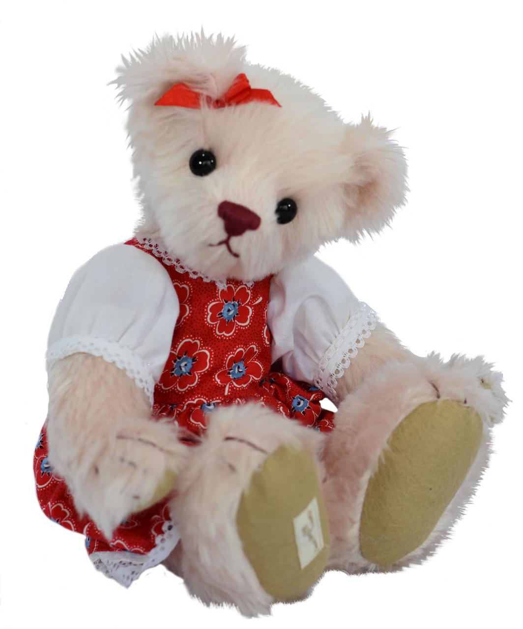 Abigail Pale Pink Mohair Deans Teddy Bears UK Ltd Ed