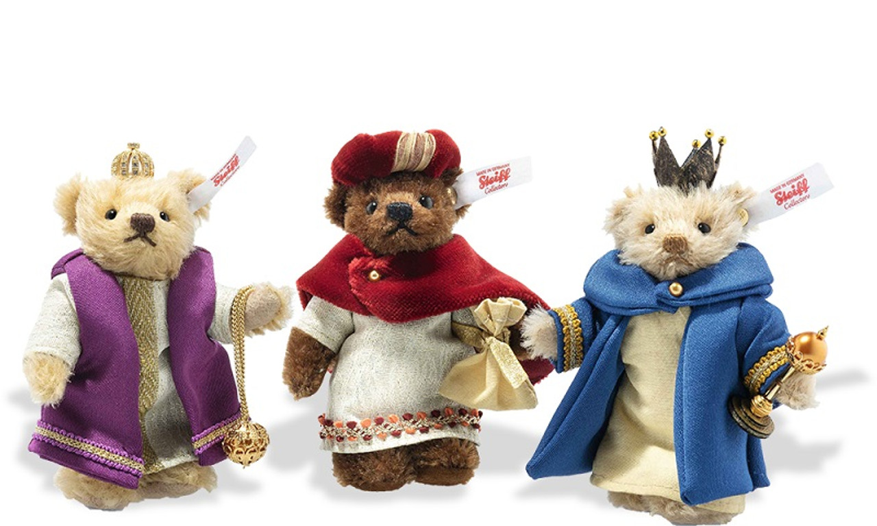 Three Holy Kings Christmas Steiff, 007064