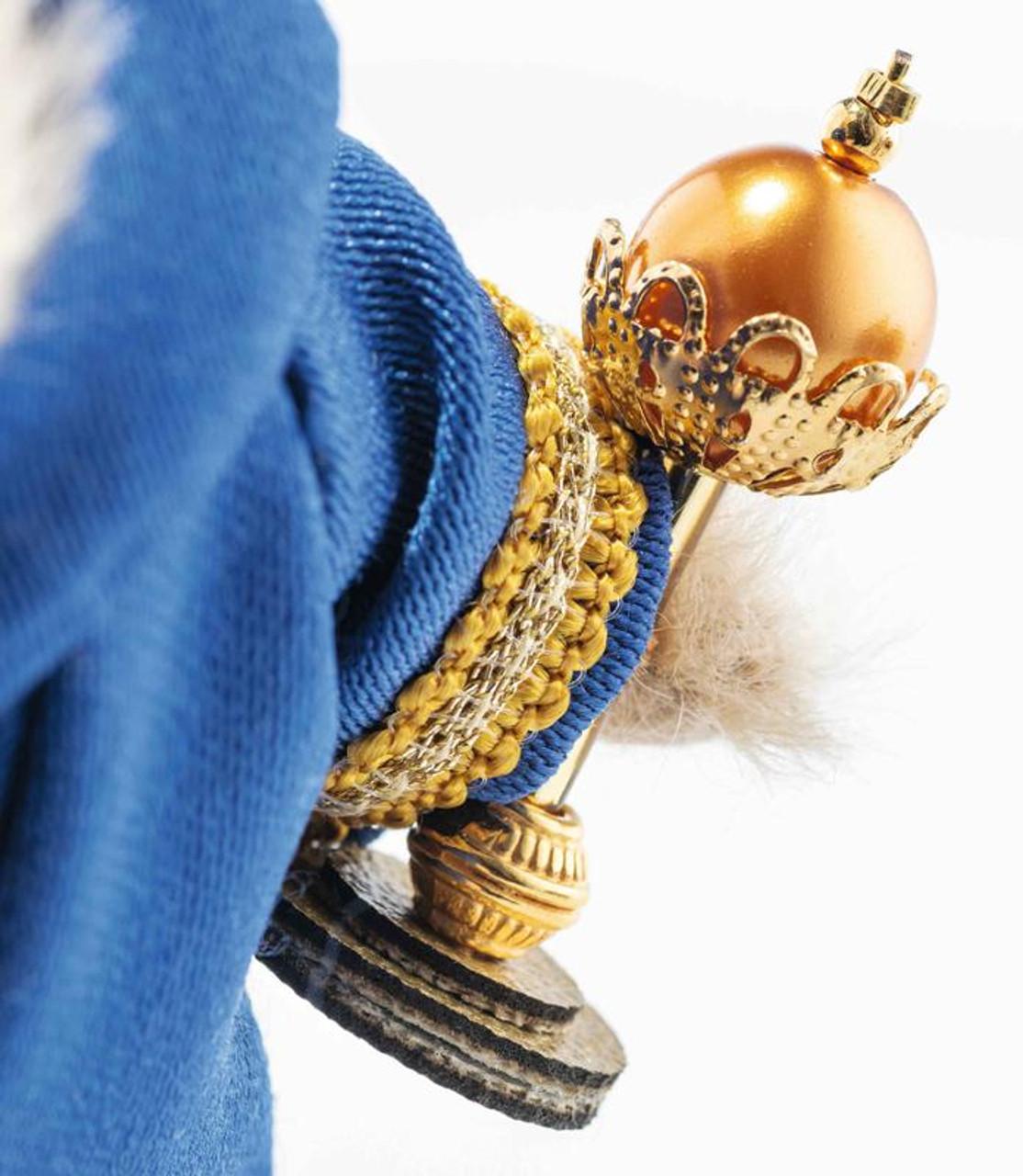 Three Holy Kings Christmas Steiff, 007064, detail
