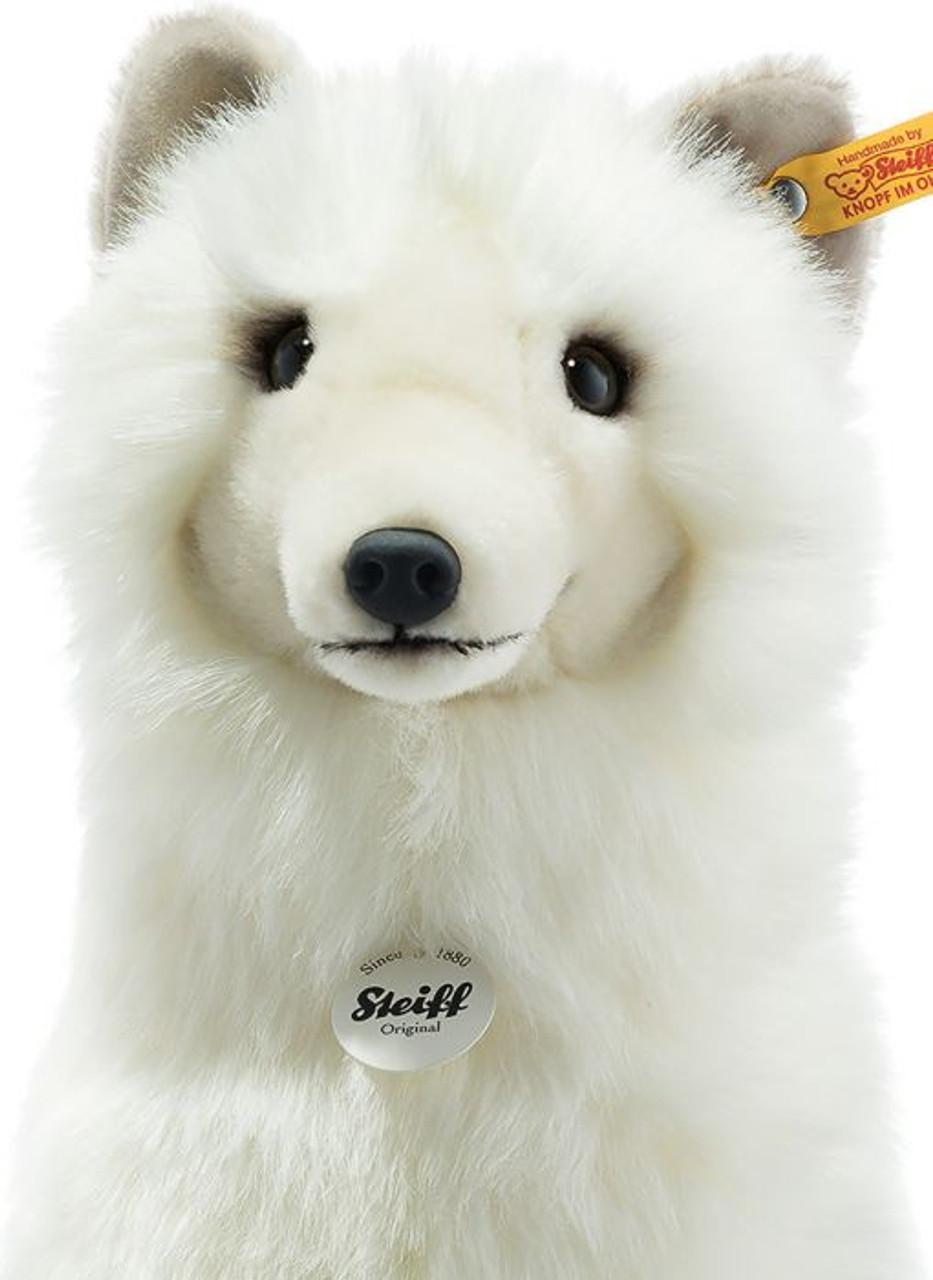 Face Detail, Arkin Arctic Fox Steiff 355707