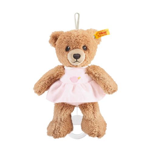 Sleep Well Bear Pink Music Box Baby Safe Steiff