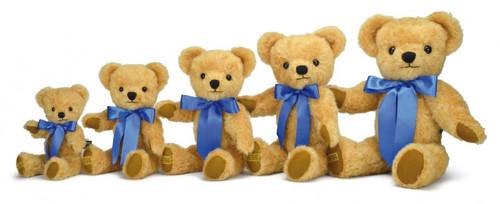 Merrythought Teddy Bear London Curly Gold 35cm