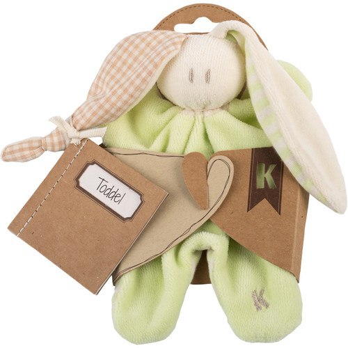 Little Toddel Lime Green Organic Comforter