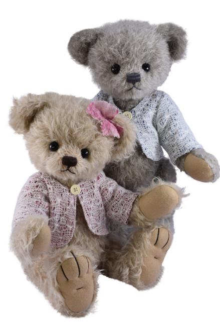 Michael & Jule Brother and Sister Bears, Teddy Jule Clemens Ltd Ed