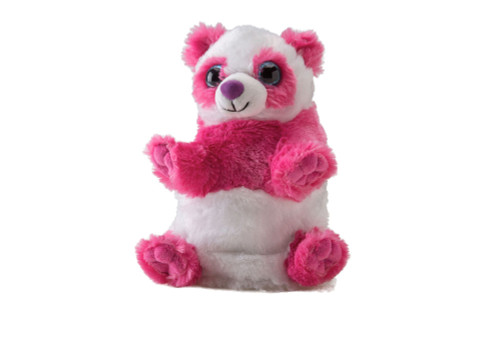 Switch A Rooz Panda Soft Toy Ying and Yang Pink