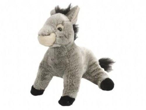 Donkey Soft Plush Toy, Cuddlekins, Wild Republic