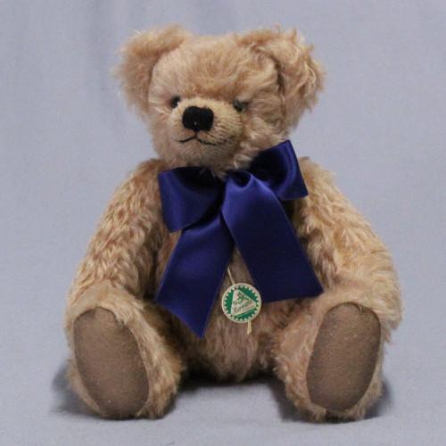 Timeless Growling Teddy Bear Beige 35cm by Hermann-Coburg