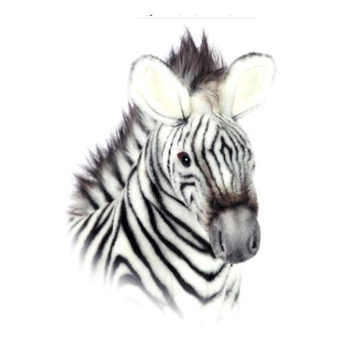 Grevys Zebra Soft Toy 32cm, Hansa, Face