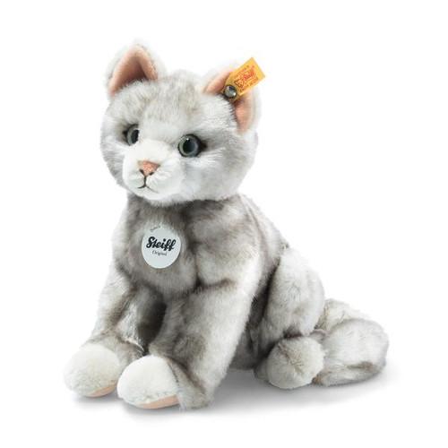 Filou Grey Cat Toy Steiff EAN 122316