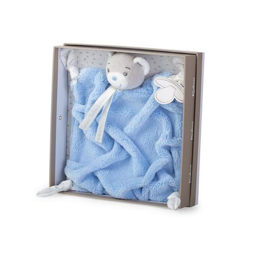 Kaloo Plume Blue Bear Comforter DouDou