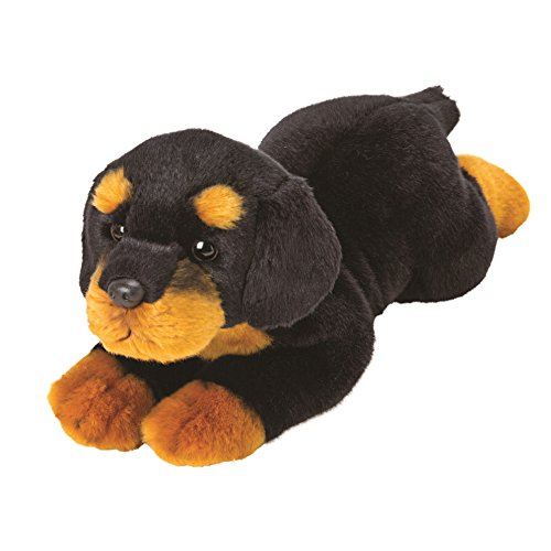 Rottweiler Dog Soft Toy 36cm Suki