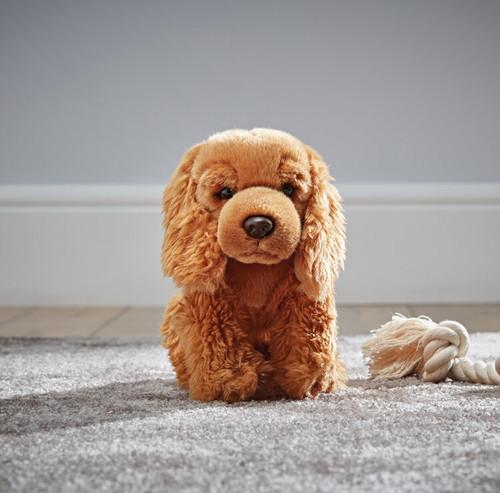 Cocker Spaniel Dog Plush Toy, Living Nature