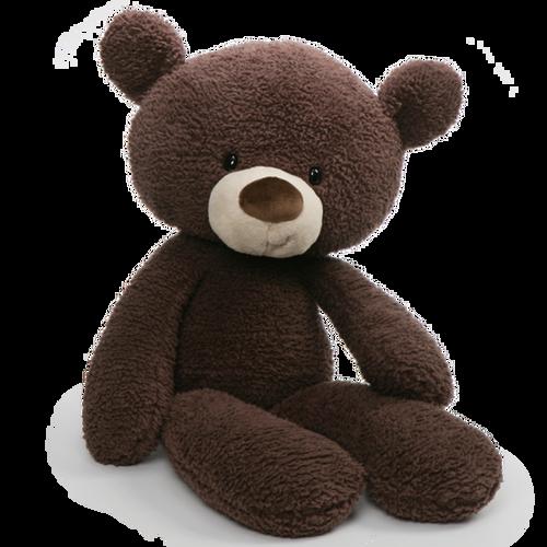 Gund Fuzzy Chocolate Jumbo Teddy Bear Huge 86cm