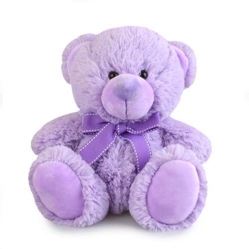 Lilac Purple Teddy Bear, My Buddy, Korimco