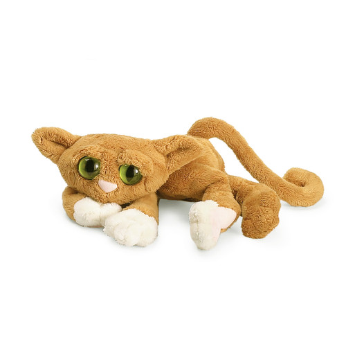 Goldie the Orange Lanky Cat 35cm