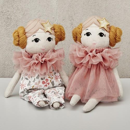 Estelle Fabric Doll, Astrup Denmark 37cm