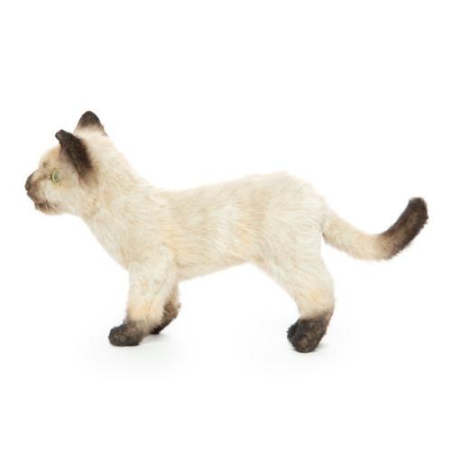 Siamese Kitten Stuffed Animal, Hansa 33cm