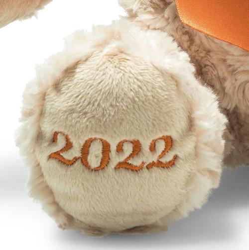 Foot embroidery, Cosy Year Bear 2022 Steiff  EAN 113536