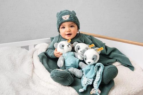 Lifestyle, Paco Panda Toy GOTS Steiff EAN 242373