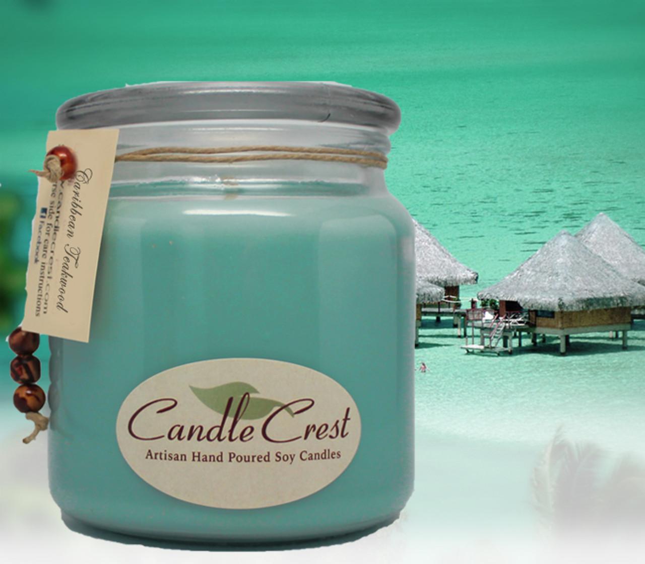 Caribbean Teakwood Soy Candle Soyfire Candle