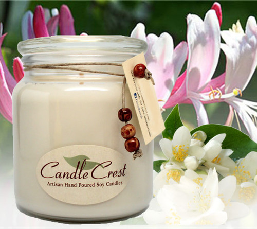 A fall in love with rich scent of fresh blooming honeysuckle with a hint of fresh jasmine.