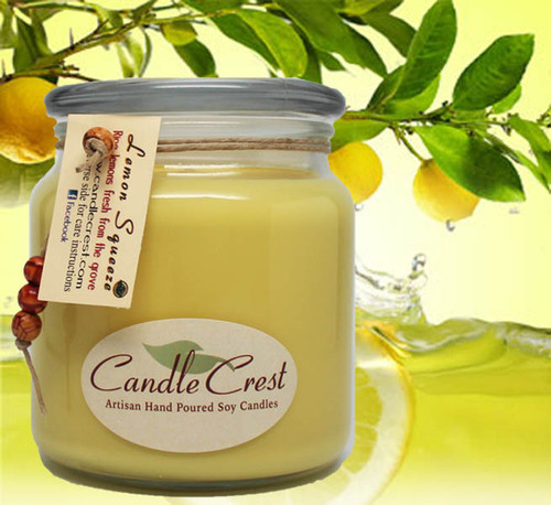Fill your home with the clean and inviting scent of fresh squeezed lemons. A true to life aroma of fresh lemons.