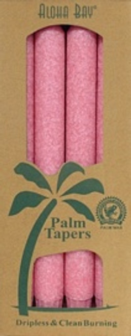 Coconut Wax Taper - Pink