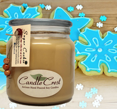 All year round candle fragrance classic! A mouth watering fragrance of grandmas fresh warm baked sugar cookies right from the oven.  A sweet buttery scent with hints of vanilla.