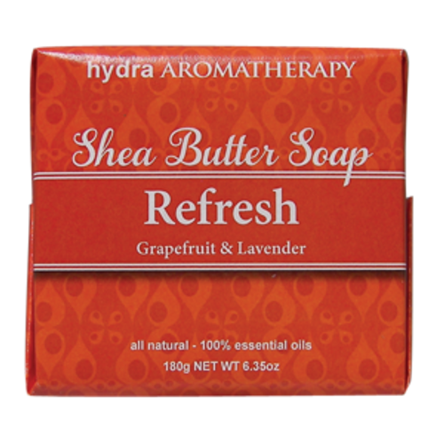 Shea Butter Soaps are triple-milled in the French tradition, creating an amazing lather and long-lasting bar. The gentle, natural ingredients offer relief for those with sensitive skin and the delightful essential oils blends offer an aromatherapy experience with each use.