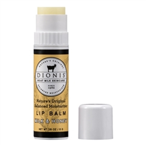 Kissed with goat milk, our Milk & Honey lip balm is lightly sweet in flavor. Infused with nourishing goat milk which helps with moisture retention. Vitamin E and shea butter help to heal lips and improve appearance.